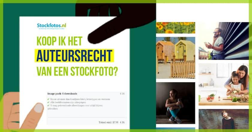 Koop ik het auteursrecht van een stockfoto, hoe zit dat? 1