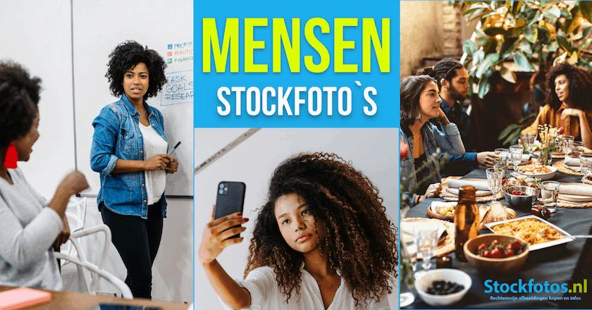 Gebruik effectieve mensen stockfoto's! 1