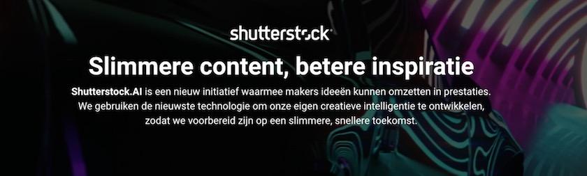 Shutterstock lanceert Shutterstock.AI voor creatieve AI-oplossingen 1