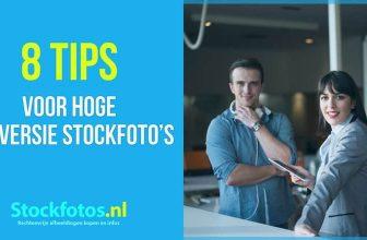 8 tips voor hoge conversie stockfoto's