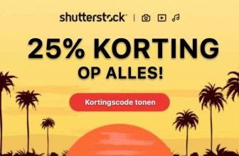 Shutterstock Video couponcode –  25% korting!
