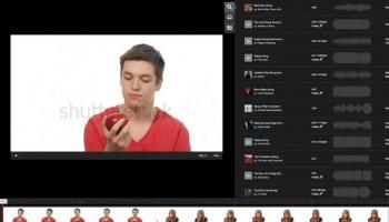 Shutterstock Sequence voor online videobewerking