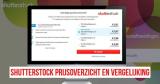 Shutterstock prijsoverzicht en vergelijking