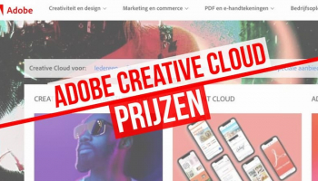 Adobe Creative Cloud prijzen: Koop nu uw Creative Cloud-plan!