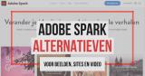 16 Adobe Spark alternatieven 2020 voor beelden, sites en video