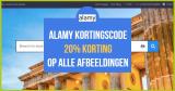 Alamy kortingscode – Nu 20% korting op alle beelden!