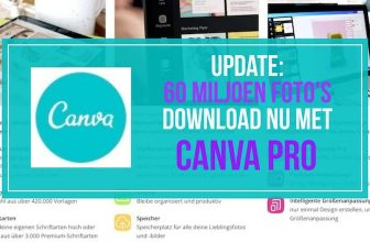 Canva update: nu 60 miljoen foto's bij Canva Pro!