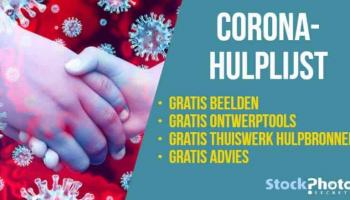 Thuis, maar niet opgesloten! Hier de lijst met gratis Corona-foto's en hulpbronnen voor beeldmateriaal