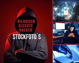 Hilarisch slechte hacker stockfoto's (kies voor deze te gekke beelden)