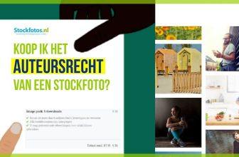 Koop ik het auteursrecht van een stockfoto, hoe zit dat?