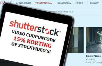 Shutterstock Video couponcode –  15% korting!