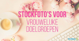 Gestileerde stockfoto's voor vrouwlijke doelgroepen