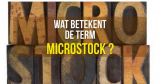 Wat betekent de term Microstock?